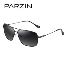 PARZIN Brand Cool Men Aviator Polarized Sunglasses For Driving Travel Quality Alloy Frame Sun Glasses Eyewear Accessories 2017