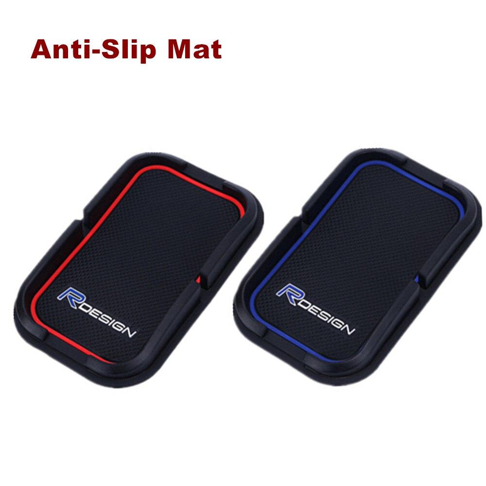 Стайлинга автомобилей RDESIGN R-DESIGN держатель телефона gps силиконовый коврик против скольжения площадкой для <font><b>Volvo</b></font> XC60 XC90 S60 S80 V70 v60 S40 C30 70