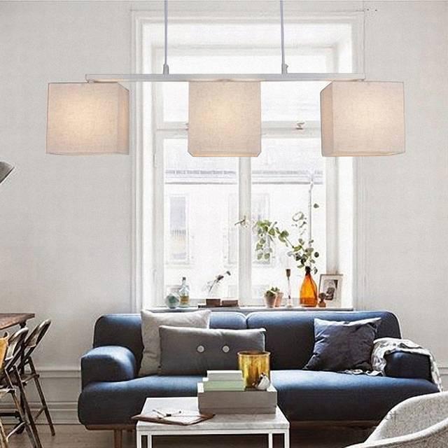 Tienda Online Lámpara colgante vintage tela araña luz de techo ...