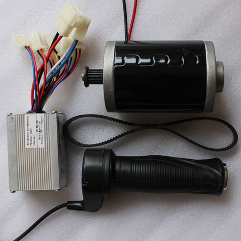 Electric scooter power system 24V 150W DC MOTOR kit brushed permanent magnet CE europe and usa style electric scooter permanent magnet high speed reversing motor dc12v 24v my6812 100w 120w 150w