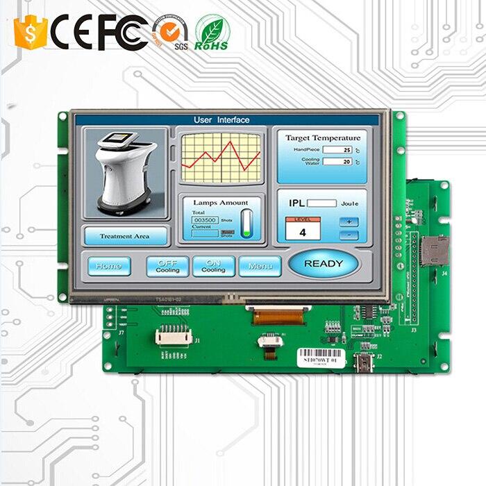 10.1 TFT LCD Modulo Display con Scheda di Controllo + Porta Seriale per Macchina Automatica10.1 TFT LCD Modulo Display con Scheda di Controllo + Porta Seriale per Macchina Automatica
