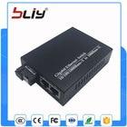 Gigabit ethernet 2 port rj45 to fiber media converter single mode and single fiber with 1 fibra port video converter transceiver
