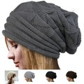 Stylish Knitted Hats for Mens Womens Baggy BeanieS Oversize Winter Hat Ski Slouchy Chic Cap Skull
