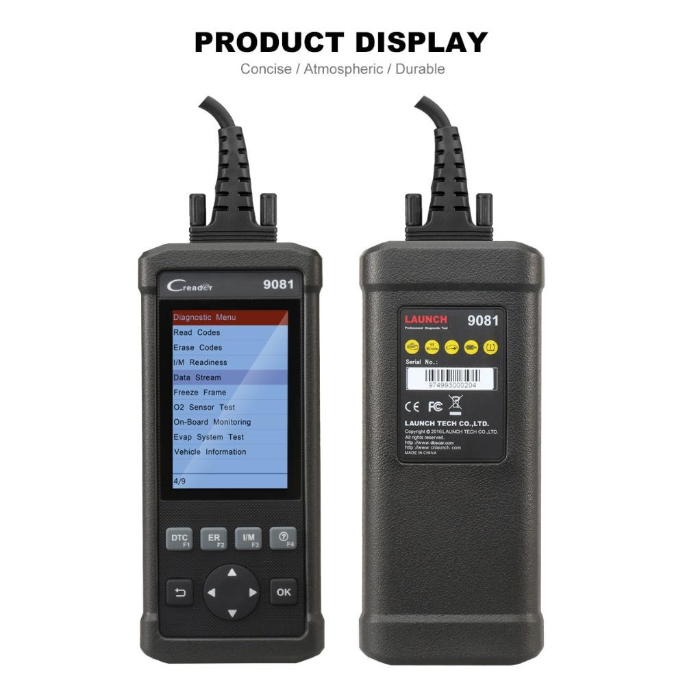Produkteinführung CReader 9081 OBD2 Diagnosescanner werkzeug mit ...