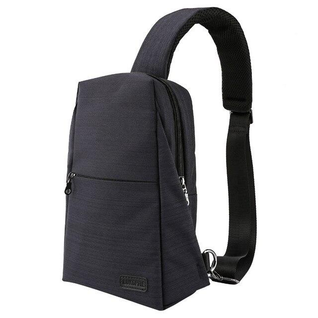 40a82a4db5 Moko Sling Bag for Men Chest Shoulder Gym Backpack Sack Satchel Outdoor  Travel Daypack Crossbody Pack