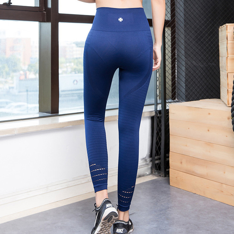 Sexy Women Fitness Leggings Running Sports Yoga Pant Compression High Waist Exercise Jogging Pants Gym Thick Tights Butt Lift(China)