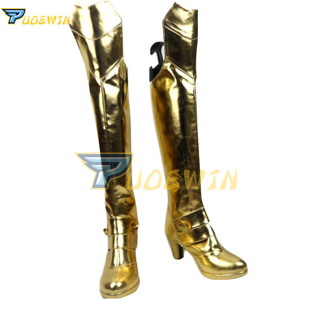 Fate stay Night Fate/Extra CCC Saber Nero Cosplay Boots Custom Made Shoes