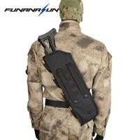 19 Tactical AK Rifle Scabbard Molle Bag Military Shoulder Sling Padded Shotgun Holster Backpack