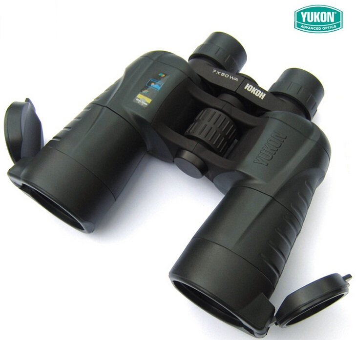 Original Yukon 22021 Prism binocular for hunting  7x50WA Wide field of view professional binocular 7x Telescope yukon woodworth 7х50 wa бинокль
