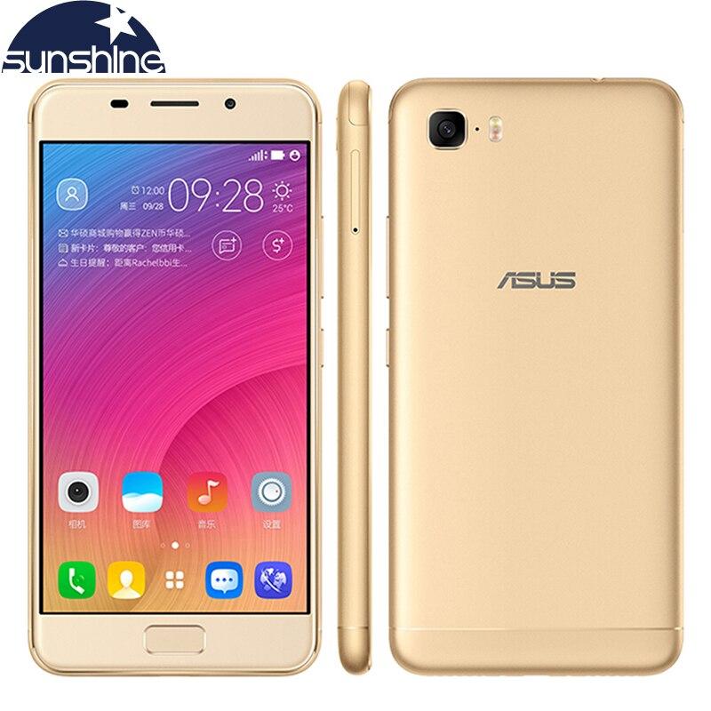 "Original ASUS Zenfone Pegasus 3s Max ZC521TL Android 7.0 Mobile Phone Octa Core 5.2"" 13MP 3GB RAM 5000mAh Fingerprint Phone"