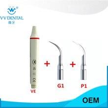 1 set Ems produk gigi pemutih gigi kit SESUAI DENGAN EMS, WOODPECKER, HENRY SCEHEIN E-SERIES SCALER kebersihan mulut gigi