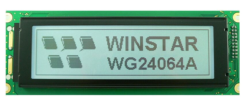 WG24064A WINSTAR 5V 240x64 graphic LCD display module which is built in RA6963 controller screen white backlight stainless steel full window with center pillar decoration trim car accessories for hyundai ix35 2013 2014 2015 24