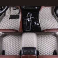 Auto Floor Mats For Toyota LAND CRUISER 100 1998 2007 Foot Carpets Car Step Mats High