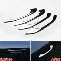 Car Styling 4Pcs ABS Exterior Outside Door Handle Grip Decorative Cover Car Trim Protectors For Macan
