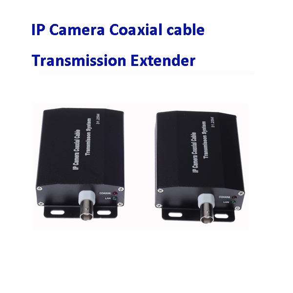 HD NETWORK Coaxial Extender IP Camera Netcom Signal Transmission Amplifier a Cable can Extend 2000 Meters 80 channels hdmi to dvb t modulator hdmi extender over coaxial