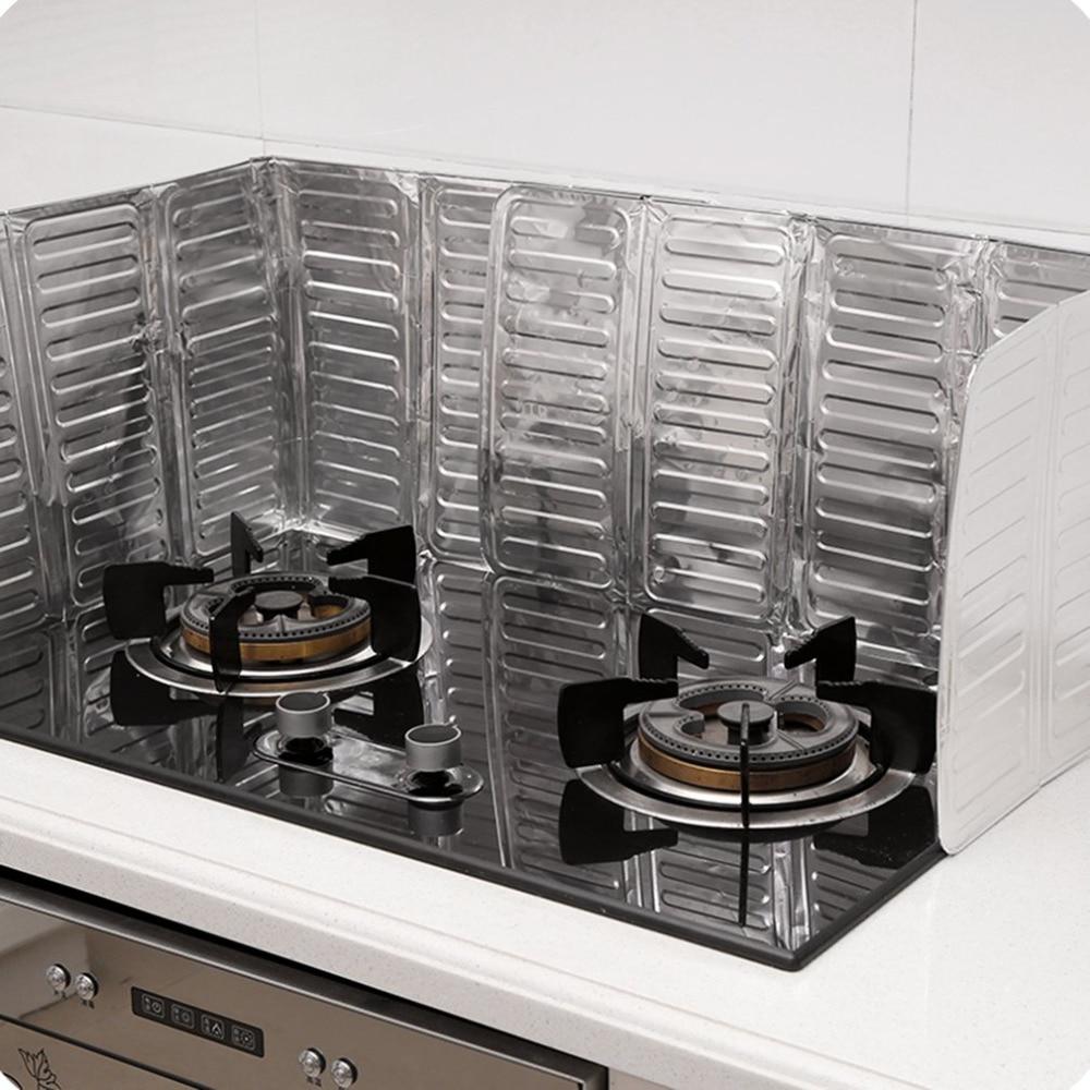 2018 Hot-sale Kitchen Cooking Frying Pan Oil Splash Screen Cover Anti Splatter Shield Guard 1Pcs