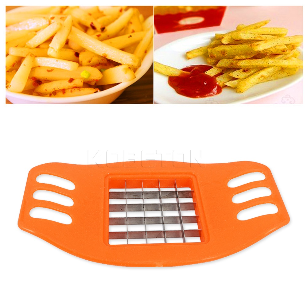 1Piece French Fries Potato Chip Cut Cutter Vegetable Fruit Slicer Chopper Chipper Blade Easy Kitchen Tools