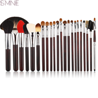 ISMINE 22 Pcs Makeup Brushes Set Bristle Goat Hair Professional Cosmetic Brushes Kits Make Up Brush