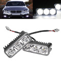 2Pcs 9W Eagle Eye LED Light Car Waterproof Work Lamp Drl Led Daytime Running Light for Kia rio Skoda