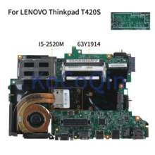 KoCoQin האם מחשב נייד עבור LENOVO Thinkpad T420S Core I5-2520M Mainboard 63Y1914 H0223-4 48.4KE58.041 QM67(China)