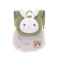 Metoo Kids Kawaii Bunny Plush Backpacks Rabbit School Bags Soft Rucksack Toys For Girls Birthday Gift
