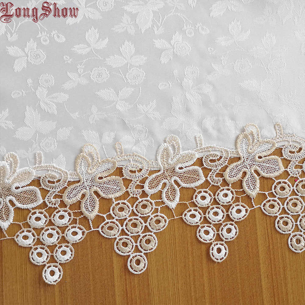 Современный стиль креативный уникальный элегантный белый жаккард вышитый милый Виноград Кружева Лоскутная скатерть