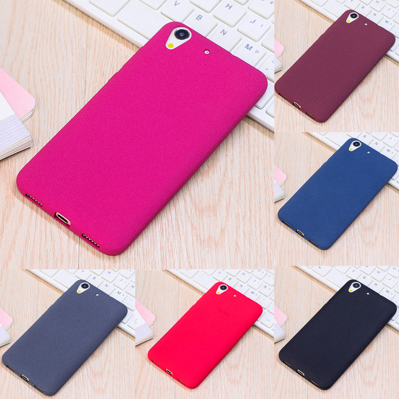 online store a6cbb b2918 US $2.36  For Oppo A37 A37m Silicone Case Frosted Feeling Silicon TPU Skin  Soft Back Cover for Oppo A 37 Neo 9 Matte Protector Shell 5.0