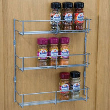 YONTREE 1 Piece Iron Seasoning Rack Spice Condiment Holder Multifunctional Removable Kitchen Organizer Ship from US