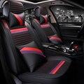 3D Completamente Cerrado Fibroso Amortiguador Del Coche Cubierta de Asiento de Coche Para Land Rover Discovery freelander 3/4 2 Sport Range Evoque Deporte