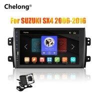 2din 9 inch Car Radio Mirrorlink Android Bluetooth Car Multimedia MP5 Player For SUZUKI SX4 2007 2008 2009 2010 2011 2013