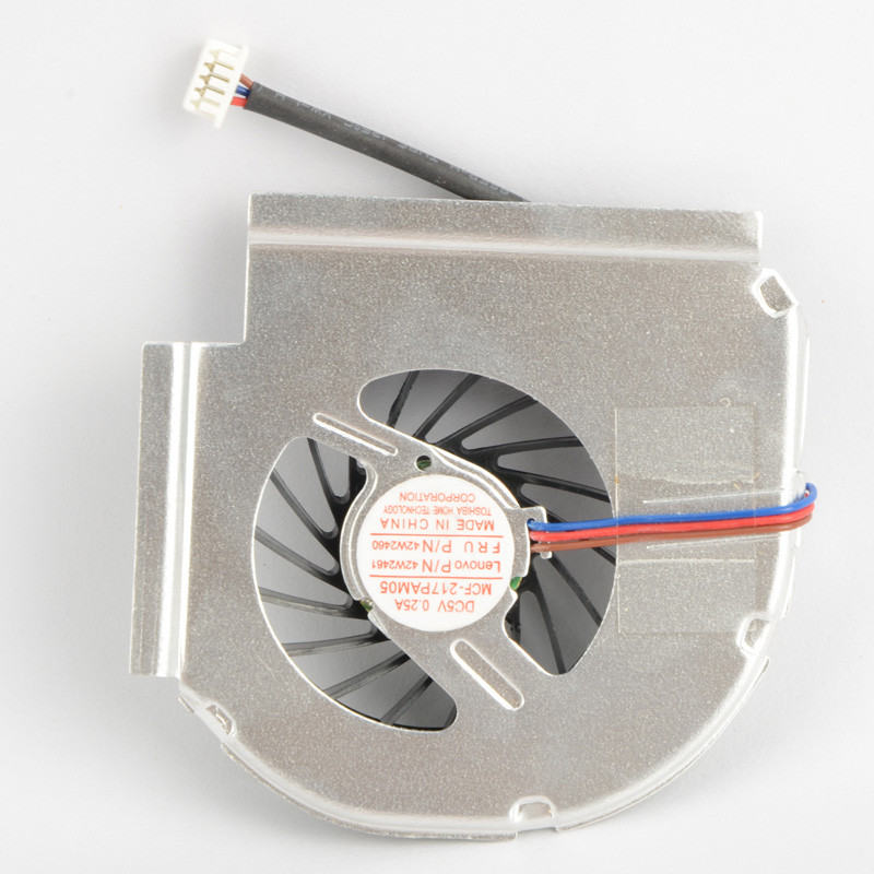 New Laptops Replacement Accessories Processor Cooling Fans Fit For BM Lenovo Thinkpad T400 Series MCF-217PAM05 Cpu Fans P20