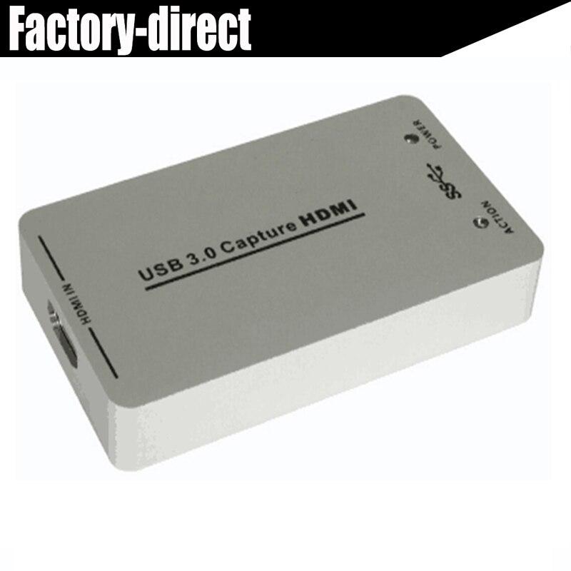 HDMI к USB 3.0 Capturer ключ HDMI USB 3.0 ВИДЕО Capturer карты конвертер до 1080 P