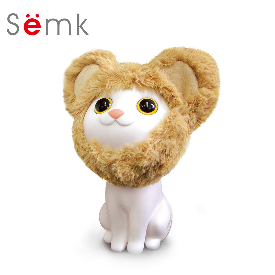 Semk Piggy Banks Cat Dolls Collar&Bell Cat Anime Toy PVC Creative Money Box Coin Bank Anime Doll Children's Toy Box Gift Box