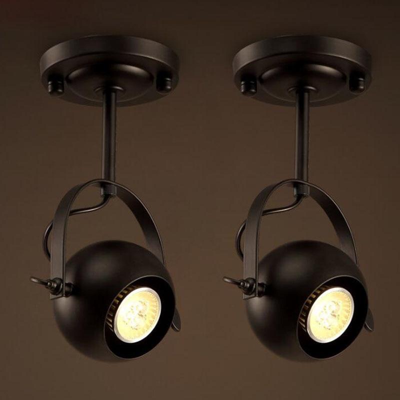 loft led vintage pendant lights free rotation kitchen wrought black light fixtures residential spotlight lighting