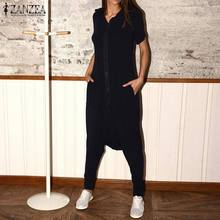 Jumpsuits Hooded-Overalls Cargo Rompers Short-Sleeve Size-Pants Plus Casual Fashion Women's
