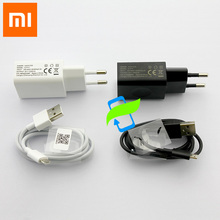 Original Xiao mi EU Power Adapter 5V 1A Wall Charger สีแดง mi Note4 mi cro USB สำหรับ Xiao mi mi 1 2 3 4 สีแดง mi 1 2 3 หมายเหตุ 2 3 4 4x
