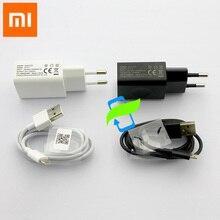 Original Xiao mi EU Power Adapter 5V 1A Wand Ladegerät Rot mi Note4 mi cro USB Kabel Für Xiao mi mi 1 2 3 4 Rot mi 1 2 3 Hinweis 2 3 4 4x
