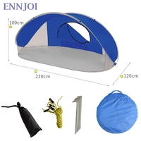 Automatic Sun Shelter 190T PU Camping Beach Tent Tabernacle Sun Shelter Quick Speed Open Up Automatic Hiking Tent
