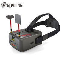 Eachine VR D2 Pro 5 Inches 800*480 40CH 5.8G Diversity FPV Goggles w/ DVR Lens Adjustable(China)