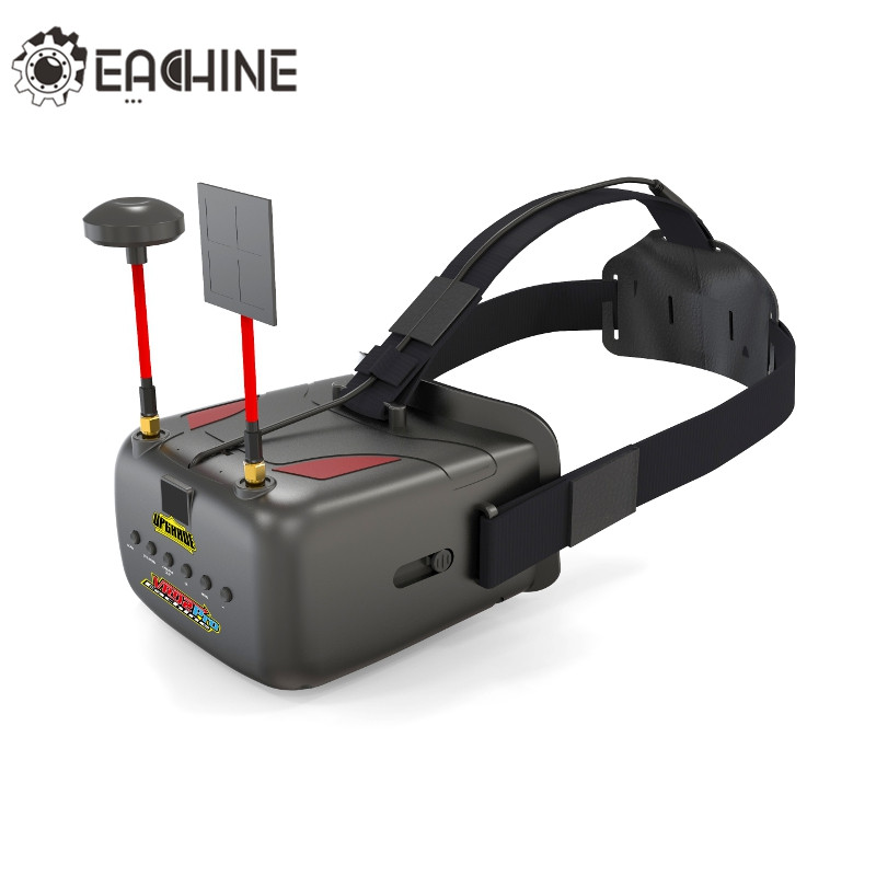 Eachine VR D2 Pro 5 Pulgadas 800*480 40CH 5.8G Diversidad Gafas FPV W / DVR Lentes Ajustables