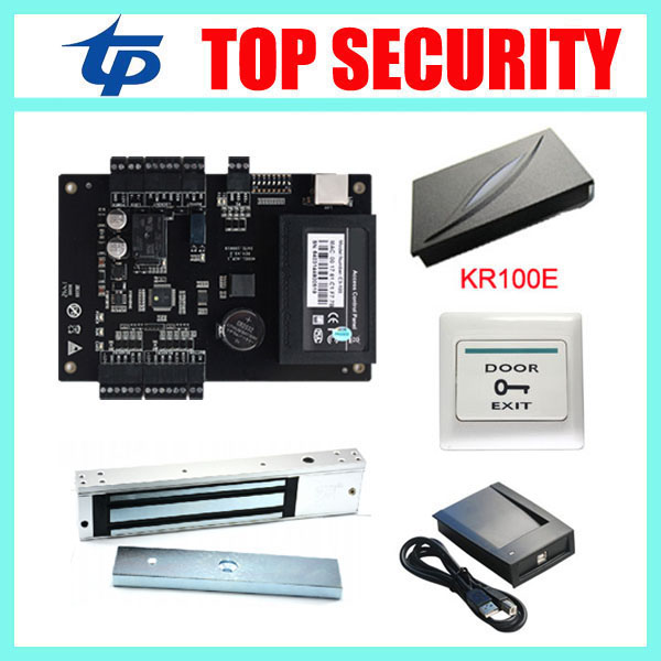 Linux system TCP/IP smart card access control system door access controller access control panel with time attendance function  ljl 3 smart attendance system password access controller black