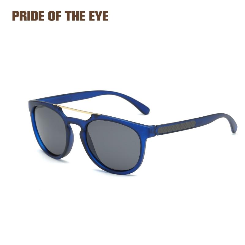 Polarized Sunglasses Retro Unisex Sun Glasses Men Women Driver Shades Male Eyewear Oculos Blue Black Brown Summer Goggles 8650 Excellent In Cushion Effect