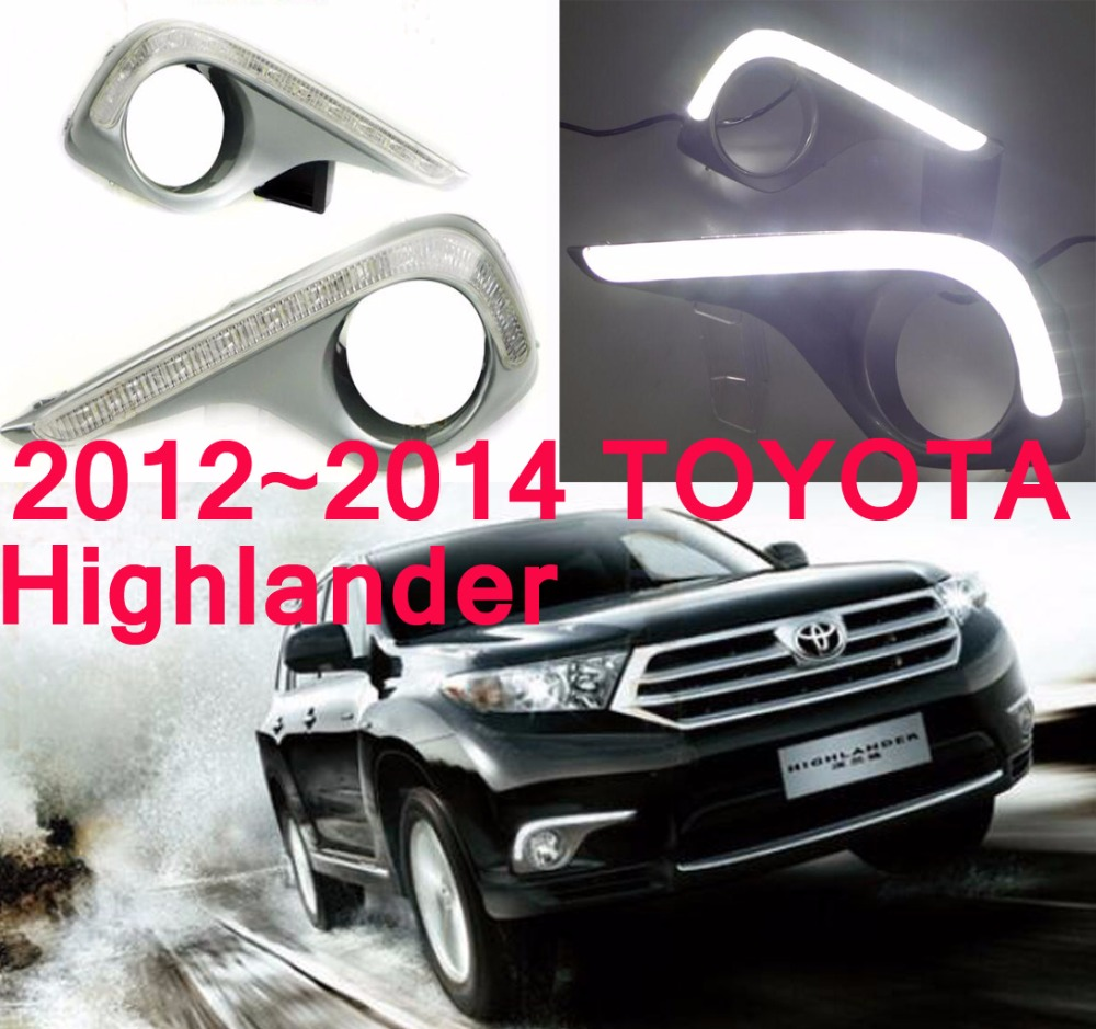 LED,2012~2014 Highlander day Light,Highlander fog light,Highland headlight;vios,corolla,camry,Hiace,sienna,yaris,High lander