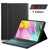 Bluetooth keyboard Tablet Case For Samsung Galaxy Tab A 10.1 2019 SM T510 SM T515 Pu Leather Cover Detachable keyboard