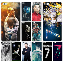 54DD Cool Cristiano Ronaldo CR7 Hard Transparent Cover for Huawei P8 P8 P9 P10 Lite y5 ii Honor 4C 5C 7 8 & Nova(China)