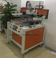 flatbed uv label screen printing machine