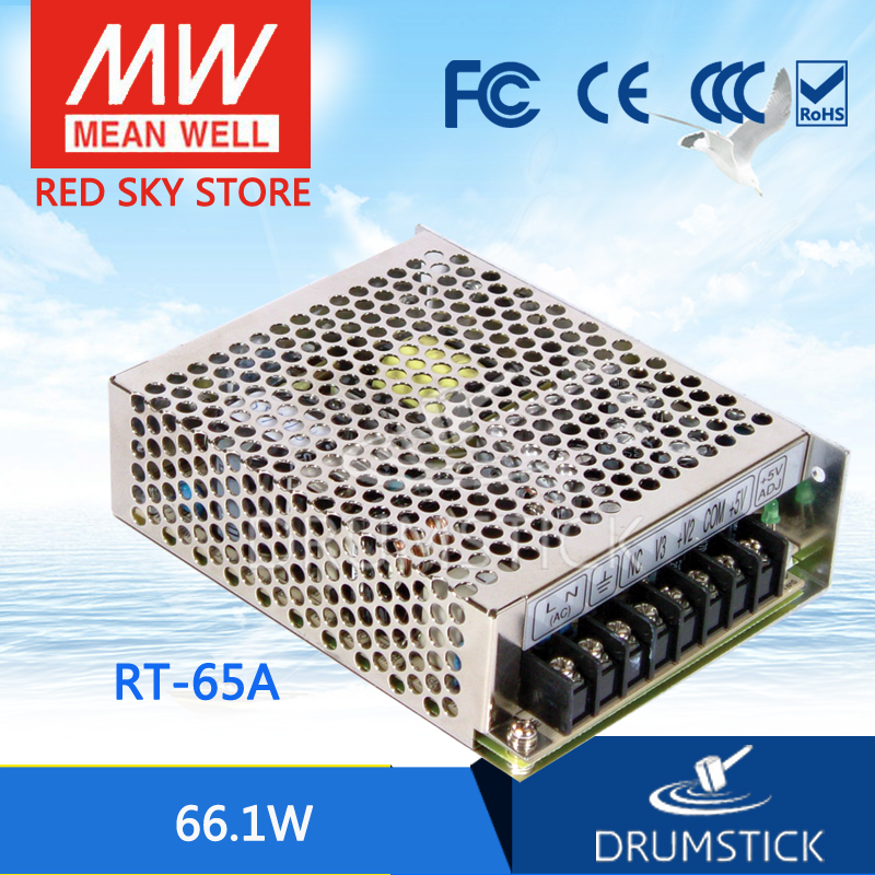 цена на Advantages MEAN WELL RT-65A meanwell RT-65 66.1W Triple Output Switching Power Supply