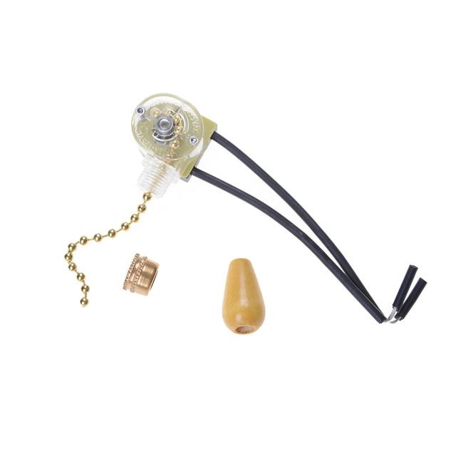 Magnifiek TOP Kwaliteit Trekkoord Schakelaar Handig Plafond Ventilator Licht JL44
