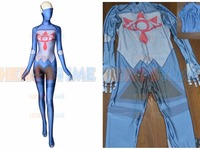 3D Print Sheikah Stealth Armor Cosplay Costume Zelda Breath of the Wild Zentai Bodysuit for adults kids halloween Party suit