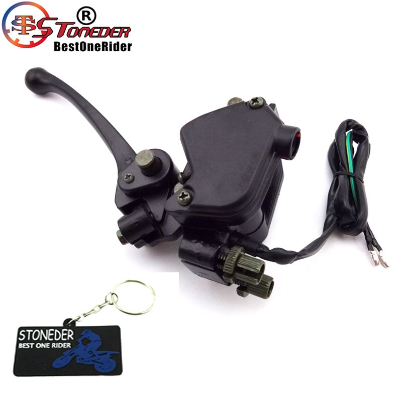 STONEDER Brake-Lever Assembly-Handle Thumb-Throttle-Accelerator 150cc 90cc Chinese Quad